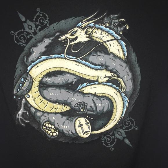 Tee Fury Tops Spirited Away Shirt No Face Haku The Dragon Poshmark